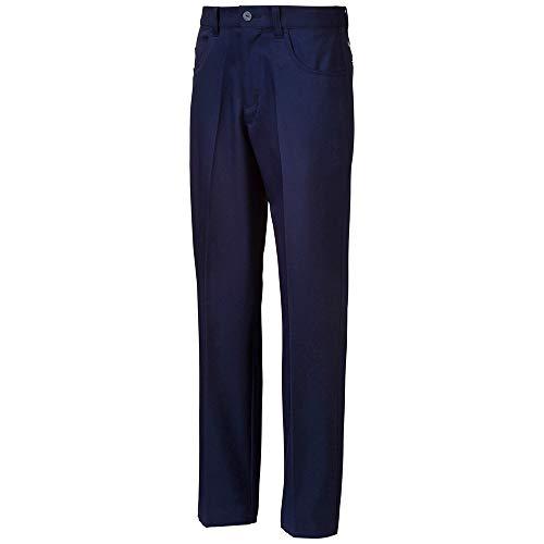Puma Golf Boys 2019 5 Pocket Pant, Peacoat, Medium