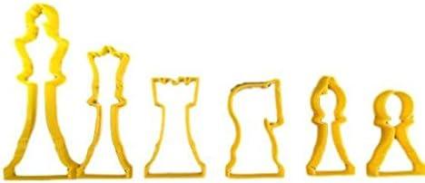 Cookie Cutz Juego de ajedrez molde para galletas: Amazon.es: Hogar