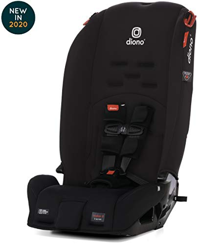 Diono Radian 3R Latch All-in-One Convertible Car Seat, Black Jet