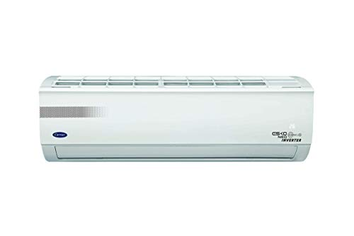 Carrier 1.5 Ton 5 Star Inverter Split AC (Copper, PM 2.5 Filter, 2020 Model, CAI18EK5R30F0 ESKO NEO-i HYBRIDJET INVERTER R32 White)