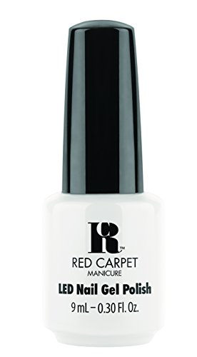 Red Carpet Manicure Gel Polish, White Hot, 0.3 Fluid Ounce