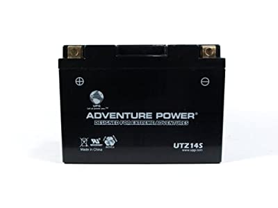 UPG UTZ14S Adventure Power Power Sport AGM Series Sealed AGM Battery