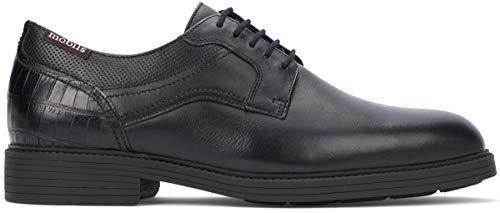 Mobils Cordones Piel Zapatos Negro Flavien De Otra Hombre vrzvwPq