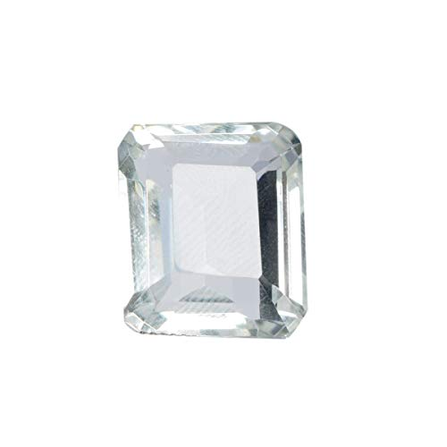 Jewelry Making White Topaz 25.50 Ct Emerald Cut White Topaz, Faceted Birthstone White Topaz -