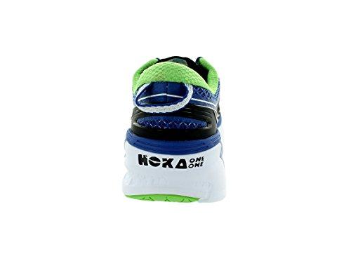 Hoka One One Mannen Conquest 2 Running Sneaker Schoen Blauw