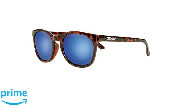 Zippo Revo Multi Lens Gafas de Sol, Unisex, Demi Brown, Medium: Amazon.es: Deportes y aire libre