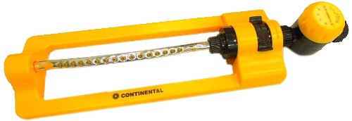 Continental Turbo Gear Oscillating Sprinkler Set with Timer
