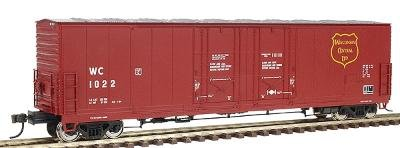 Atlas HO 1766-3: Evans 53' Double Plug-Door Box Car, Wisconsin Central (Double Plug Door Boxcar)