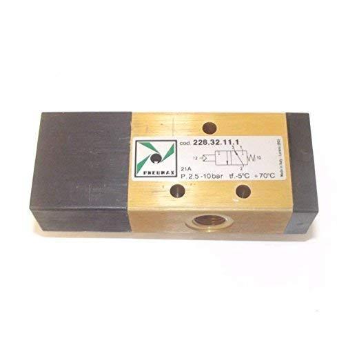 Pneumax 228.32.11.1 1//8 Bsp Pilot spring valve 3//2