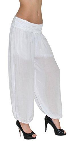Harem Pump S12 Dames Pantalon Sarouel Pantalons nbsp;nbsp;blanc Femme S12 Yoga De Pour OkZuTPiX