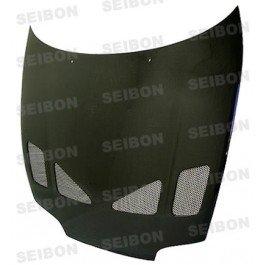 Seibon Carbon Fiber TR-Style Hood Toyota Supra 93-98 ()
