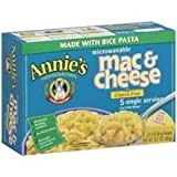 Best Annie's Homegrown Pasta Sauces - Annies Homegrown Microwaveable Cheddar Macaroni and Cheese, 10.7 Review