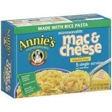 Annie's Homegrown, Mac Cheese Cheddar Micro, 2.15 Ounce, 5 Pack by Annie's Homegrown