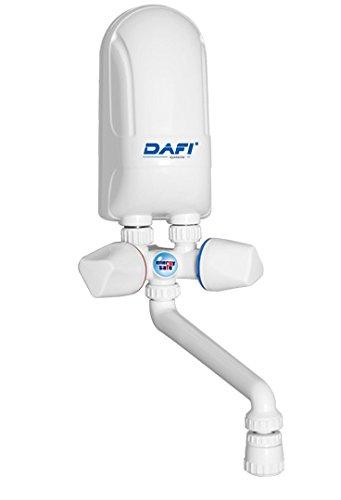 Durchlauferhitzer 5,5 kW 230V DAFI Übertisch m. Armatur Mini Klein