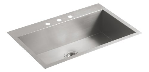 3 Hole Single Sink - 9