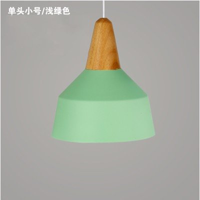 JhyQzyzqj Pendant Lights Chandeliers Ceiling Lights Solid Wood Founded The Nordic Character Dining and Lounge Creative Modern Minimalist Japan-China LED Single 3-Head with Chandeliers 26X30CM