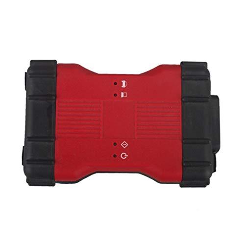 Peepheaven Outil diagnostique de Scanner de Voiture de VCM II OBD2 pour Ford V106 pour Mazda VCM II IDS - Rouge et Noir