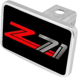 Eurosport Daytona- Compatible with -, Z71 - Hitch Cover by Chevrolet