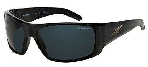 Arnette Men's La Pistola Polarized Sport Sunglasses BLACK 55mm