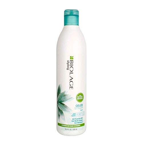 BIOLAGE Styling Gelée | Firm Hold That Adds Body, Shine & Control | Paraben-Free | For All Hair Types | 16.9 fl. oz.