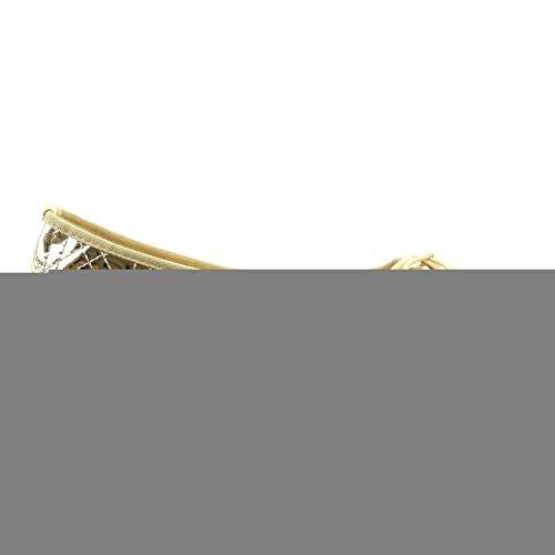 Sopily - Chaussure Mode Ballerine Cheville femmes brillant nœud Talon bloc 1 CM - Intérieur synthétique - Or