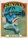 1972 Topps Regular (Baseball) Card# 57 Bob Oliver of the Kansas City Royals VGX Condition