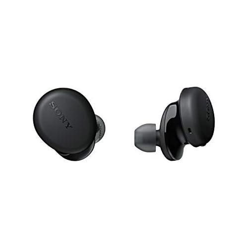 chollos oferta descuentos barato Sony WFXB700B True Wireless Auriculares Totalmente inalámbrico Bluetooth Extra Bass Micro para llamadas Manos Libres 18h de batería Resistencia IPX4 Negro