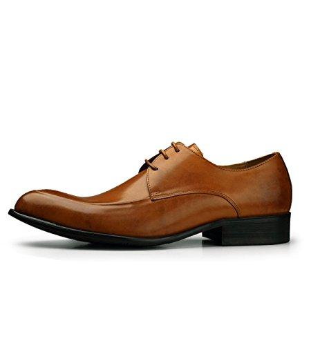 Habillées Hommes Ressort GRRONG Chaussures yellow Et Mode D'affaires Automne BCwqS