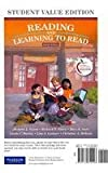 Reading and Learning to Read, Student Value Edition Plus NEW MyEducationLab with Pearson EText -- Access Card, Vacca, Jo Anne L., 0132995689