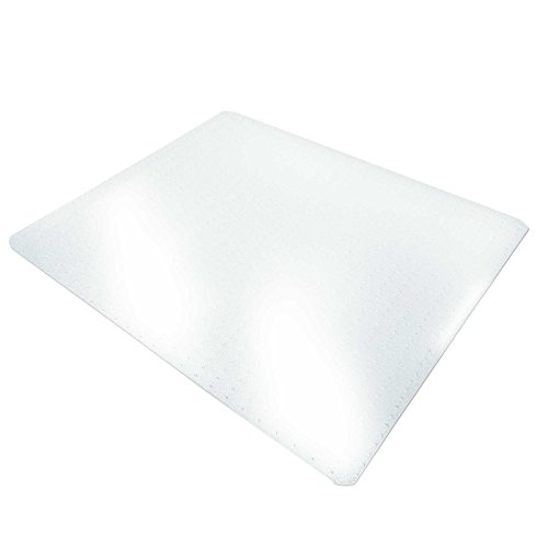 Office Marshal® Chair Mat for Carpet Floors, PVC, Low/Mediu