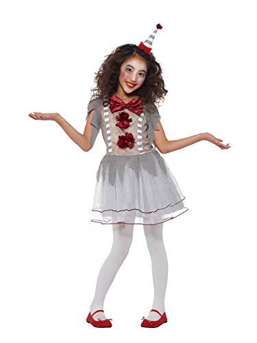 Girl's Vintage Clown Costume -