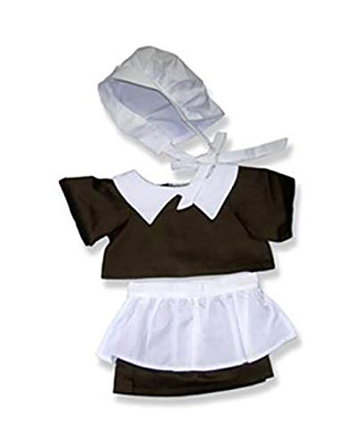 """Pilgrim Girl Clothes for 14"""" - 18"""" Stuffed Animals and Dolls from The Bear Mill"""