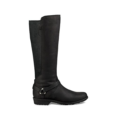 Vina Dos Tall Boot, Black, 8.5 M US ()