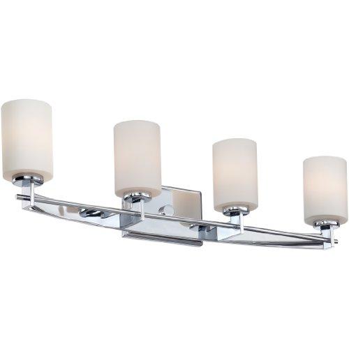 Quoizel TY8604C Taylor Bath Vanity Wall Lighting, Lights 4-Light, 400 Watts, Polished Chrome (8