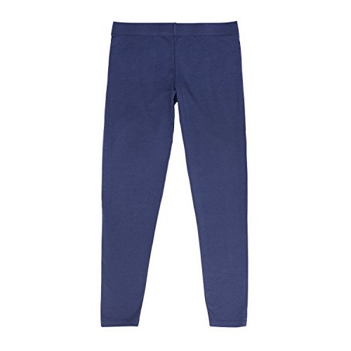 Womens Navy Legging, High-Rise Waistband, No-Show Through, for Gym & Yoga, Sarah Collection, M ()