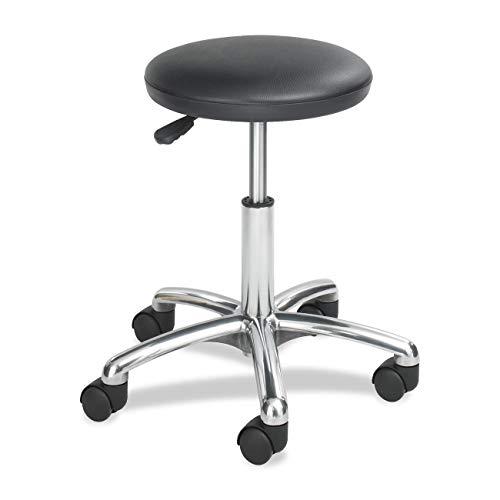 - OKSLO Economy height adjustable lab stool, black