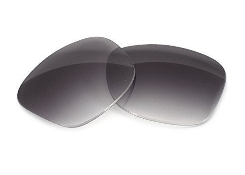 FUSE Grey Gradient Tint Lenses for Ray-Ban RB2132 New Wayfarer - Dark Wayfarer Sunglasses Tint