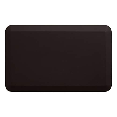 NewLife By GelPro Anti-Fatigue Designer Comfort Kitchen Floor Mat Stain Resistant Surface with 3/4