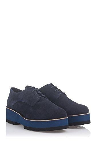 azul marino para Moretti Laura mujer Zapatos 7Opwgqq