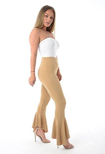 Love Celeb Look - Pantalón - para mujer marrón claro