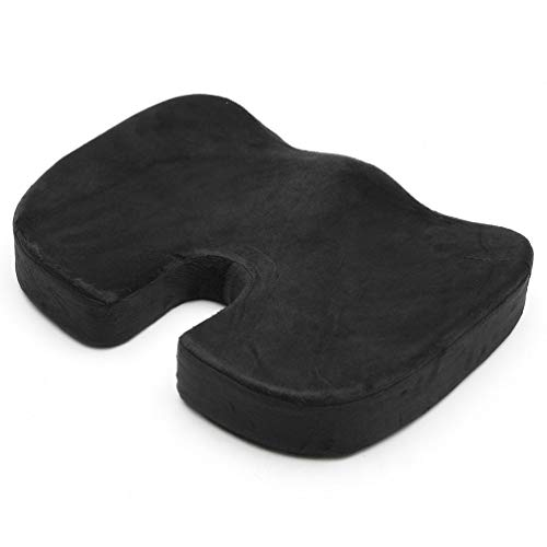 - YURASIKU Travel Seat Cushion Coccyx Orthopedic Memory Foam U Seat Massage Chair Cushion Pad for Car Office Home Use