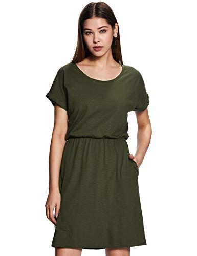 Amazon Brand – Symbol Cotton a-line Dress