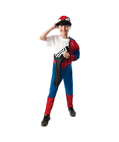 Ultimate Spiderman Movie Reversible Boys Halloween Costume (Spiderman Reversible Costume)