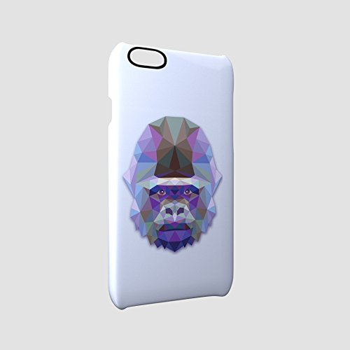 Gorilla Animal Art Of Triangles Glossy Hard Snap-On Protective iPhone 6 Plus + / 6S Plus + Case Cover