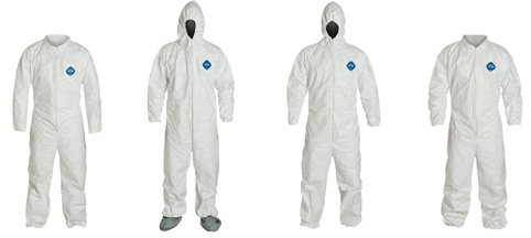 Sunrise TY122SWH-3X Tyvek Chemical Coverall - 3X-Large