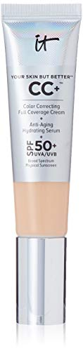 It Cosmetics Your Skin but Better CC Cream with SPF 50 Plus (Medium) - 1.08 Ounces from It Cosmetics