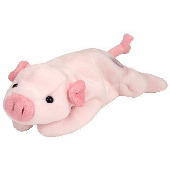 Amazon.com  TY Beanie Baby - Squealer the pig (BBOC Exclusive) Ty ... e5f0c161d1a