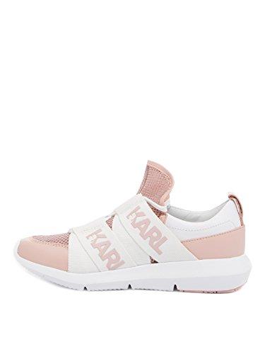 Karl Lagerfeld Damesschoenen Sneaker Kl61120 Roze Roze Roos Vrouwen, Schoenen Maat: Eur 40