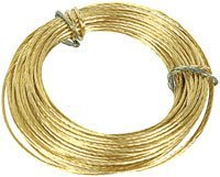 Brass Wire 2 packs of 6m. (12m) For picture hanging STANDISH x714