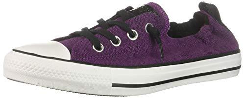 Chick Purple - Converse Women's Chuck Taylor All Star Shoreline Sneaker, Icon Violet/White/Black, 6.5 M US
